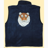 "Fleece-Gilet ""Tiger"""